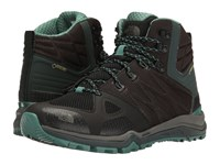 The North Face Ultra Fastpack Ii Mid Gtx Tnf Black Deep Sea Women's Hiking Boots