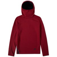 Nike Tech Fleece Pullover Hoody Red