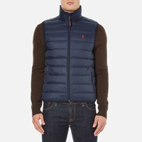 Polo Ralph Lauren Men's Lightweight Down Vest Aviator Navy