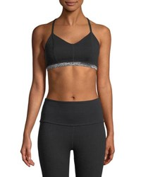 Beyond Yoga Fit And Trim Adjustable Sports Bra Jet