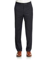 Lauren Ralph Lauren Straight Leg Dress Pants Navy