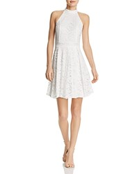 Aqua Lace Fit And Flare Dress 100 Exclusive Cream