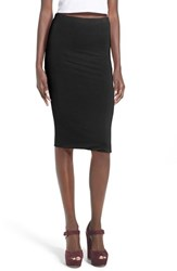 Women's Leith Stretch Knit Tube Skirt Black
