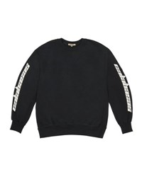 Yeezy Boxy Fit Crewneck Sweatshirt Black