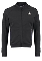 Le Coq Sportif Tech Tracksuit Top Black