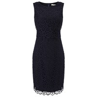 Precis Petite Floating Bodice Dress Navy