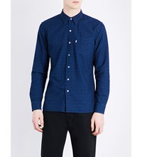Levi's Sunset Regular Fit Cotton Shirt Mentha Indigo