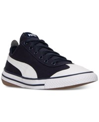 Puma Men's 917 Fun Casual Sneakers From Finish Line Peacoat White