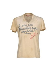 Seal Kay Independent T Shirts Beige
