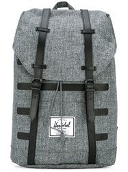 Herschel Supply Co. Retreat Backpack Men Leather Polyester Polyurethane One Size Grey