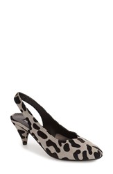 Topshop Women's 'Jazz' Slingback Pump