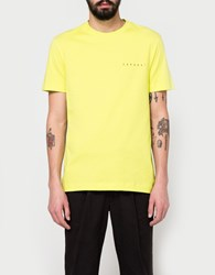 Gosha Rubchinskiy Europa T Shirt In Yellow