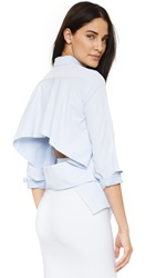 N Nicholas Backless Shirt