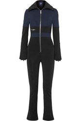 Fusalp Grazzia Color Block Stretch Shell Ski Suit Navy