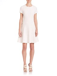 Rebecca Taylor Knit Pique Dress Snow