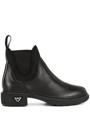 Emporio Armani Elasticated Side Panel Boots 60