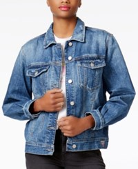 Guess Iconic Logo Denim Jacket