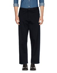 Solid Casual Pants Black