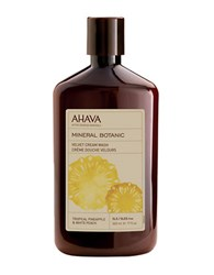 Ahava Mineral Botanic Cream Wash Tropical Pineapple And White Peach 17Oz No Color
