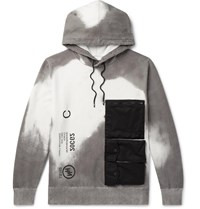 Neighborhood Thermo Printed Loopback Cotton Jersey Hoodie White