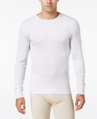 Alfani Men's Big And Tall Waffle Thermal Top Only At Macy's White B And T
