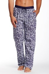 Majestic Mediterranean Paisley Lounge Pant Blue
