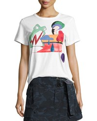 Marc Jacobs Julie Frog Classic Tee Ivory