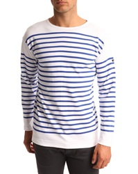 Armor Lux Amiral Hartford Blue And White Smock Top