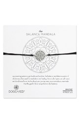 Dogeared Women's The Balance Mandala Bracelet Silver