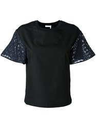 See By Chloe Classic T Shirt Black