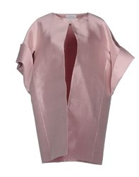 Cailan'd Coats And Jackets Full Length Jackets Women Pastel Pink