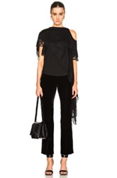 Givenchy Reversible Asymmetrical Top In Black
