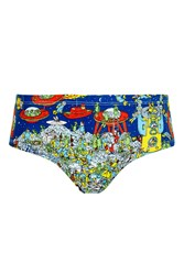 Topshop Where's Wally Boypant Knickers Multi
