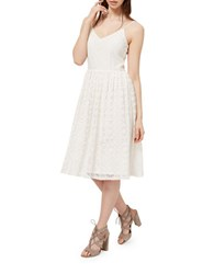 Miss Selfridge Lace Midi Sundress White