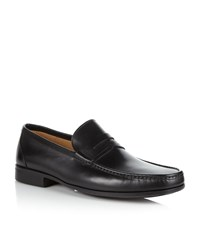 Magnanni Leather Penny Loafer Male