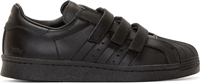 Black Leather Adidas Originals By Juun.J Sneakers