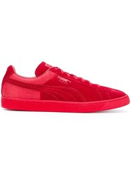 Puma 'Classic Casual Emboss' Sneakers Red