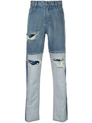 Mostly Heard Rarely Seen Helter Skelter Straight Jeans 60