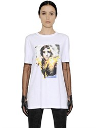 Maison Martin Margiela Doll Printed Cotton Jersey T Shirt