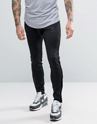 Gym King Joggers In Skinny Fit Black