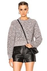 Alexander Wang T By Crew Pullover Sweater In Black