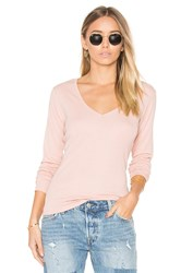 Obey Courtney Long Sleeve V Pink