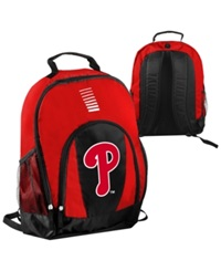 Forever Collectibles Philadelphia Phillies Prime Time Backpack Red