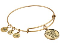Alex And Ani Villanova University Logo Charm Bangle Rafaelian Gold Finish Bracelet