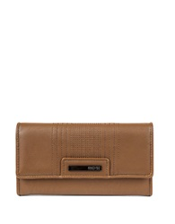 Kenneth Cole Reaction Never Let Go Trifold Flap Clutch Earth