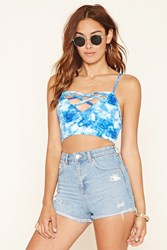Forever 21 Strappy Caged Cropped Cami