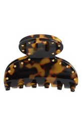 France Luxe Studded Small Couture Jaw Clip Tokyo