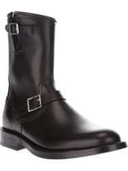 Saint Laurent 'Classic Engineer' Boot Black