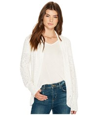 Roxy Let's Go Anywhere Cardigan Marshmallow Sweater Blue