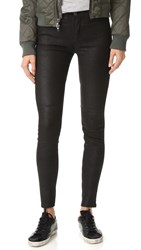 Blk Dnm Leather Pants 22 Black